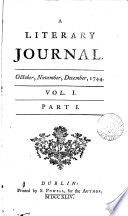A Literary journal [ed. by J.P. Droz].