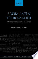From Latin to Romance
