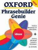 Oxford Phrasebuilder Genie Cd Rom