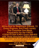 All in One for Beginners  EBook  13 Exam Engines  and Flash Cards