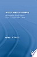 Cinema  Memory  Modernity
