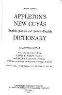 Appleton s New Cuy  s English Spanish and Spanish English Dictionary