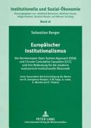 Europäischer Institutionalismus
