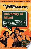 University Of Miami 2012