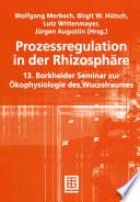 Prozessregulation in der Rhizosphäre