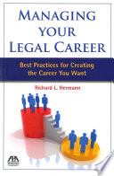 Managing Your Legal Career