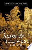 Siam The West 1500 1700 book
