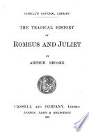 The Tragical History of Romeus and Juliet