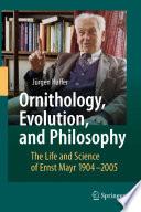 Ornithology  Evolution  and Philosophy