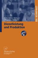 Dienstleistung und Produktion