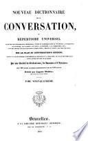 Nouveau dictionnaire de la conversation