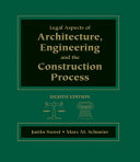 Book Legal Aspects of Architecture, Engineering & the Construction Process