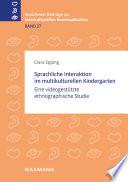 Sprachliche Interaktion im multikulturellen Kindergarten