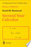 Second Year Calculus