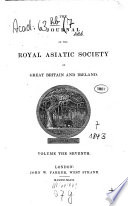Journal of the Royal Asiatic Society