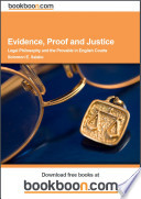 Evidence, Proof and Justice