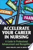 Accelerate Your Career In Nursing
