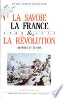 La Savoie  La France et la Revolution
