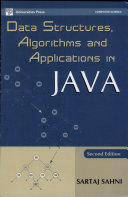 Data Structures   Algorithms  And Applications In Java  second Edition