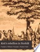 Kett s rebellion in Norfolk Book PDF
