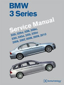 Bmw 3 Series E90 E91 E92 E93 Service Manual