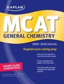 Kaplan MCAT General Chemistry 2009 2010