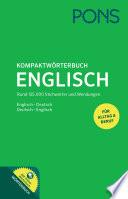 PONS Kompaktw  rterbuch Englisch