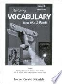 Building Vocabulary  Grade 3  Kit eBook