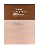 Strictly structured BASIC