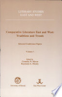 Comparative Literature East and West Will Present Work From A Two Year Study At