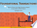 Foundational Transactions