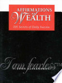 Affirmations Of Wealth