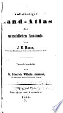 Vollst  ndiger Hand Atlas Der Menschlichen Anatomie