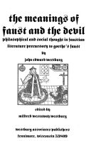 The meanings of Faust and the Devil