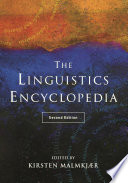 Linguistics Encyclopedia