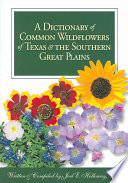 A Dictionary of Common Wildflowers of Texas   the Southern Great Plains