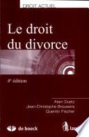 illustration Le droit du divorce