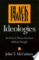 Black Power Ideologies
