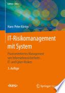 IT-Risikomanagement mit System