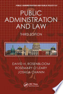 Public Administration and Law  Third Edition