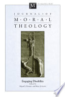 Journal Of Moral Theology Volume 6 Special Issue 2