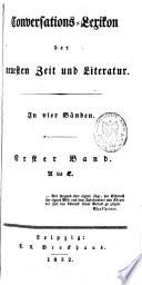 Conversations-Lexikon der neuesten Zeit und Literatur