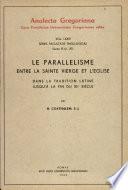 Parallelisme Entre S. Vierge