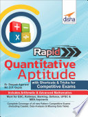 Rapid Quantitative Aptitude - With Shortcuts & Tricks for Competitive Exams