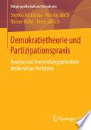 Demokratietheorie und Partizipationspraxis