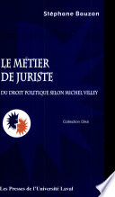 illustration Le métier de juriste