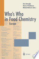 Who S Who In Food Chemistry
