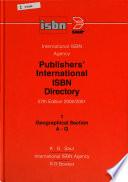 Publishers' International ISBN Directory