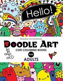 Doodle Art Cute Coloring Books for Adults and Girls