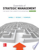 Essentials of Strategic Management  The Quest for Competitive Advantage